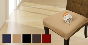 SmartSeat Chair Protector on Wood Floor